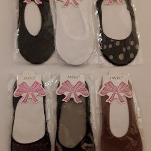 Hoisery Slip-ons for Flat Shoes